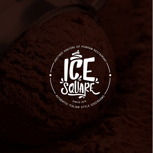 Ice Square Logo Design